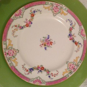 Vintage China Lunch Plates