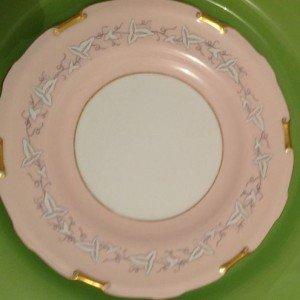 Vintage fine china plate