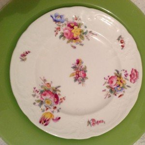 Vintage Fine China salad plate