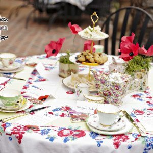 Vintage China Tablecloths