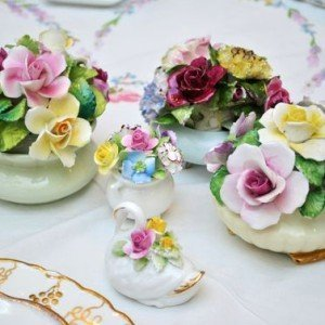 Vintage China Small China Accessories