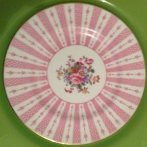 Vintage fine china 8 inch plate