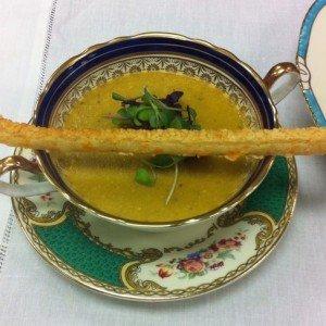 Vintage China Handled Soup Bowls