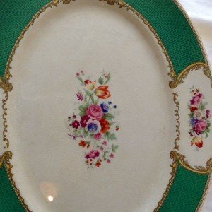 Vintage China Small & Large Platters