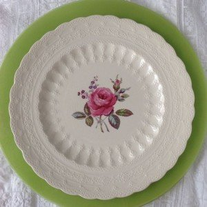 Vintage fine china Dinner Plate