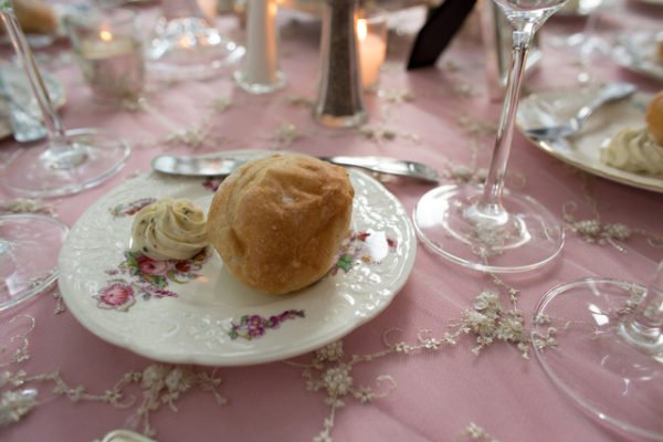 bread plate Atlanta weddings
