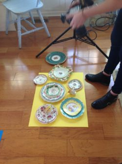 Vintages plates styling