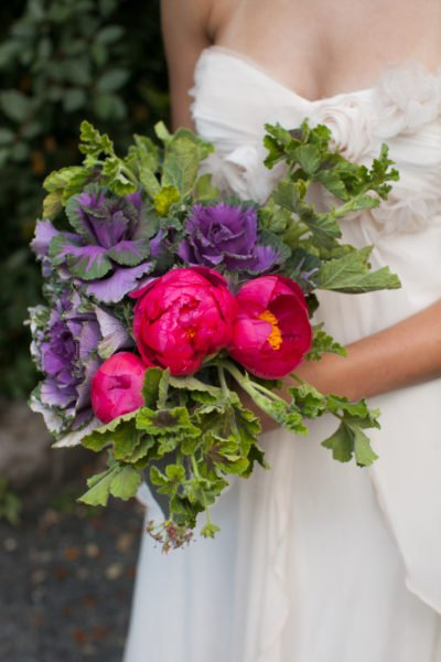 Deep lush florals