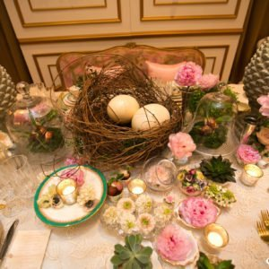 Luxury Wedding Easter tablescape