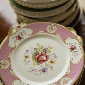 luxury plates rustic wedding inspiration