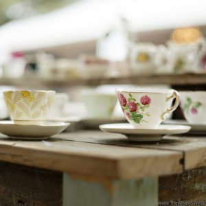 tea Cups Wedding table Georgia