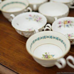 cups luxury wedding table georgia