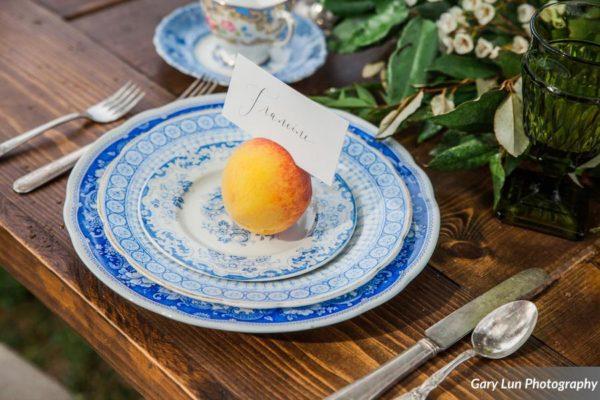 Georgia Serenbe Luxury Rustic table Fine china