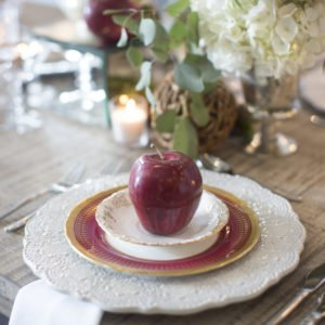 luxury fine china wedding Georgia