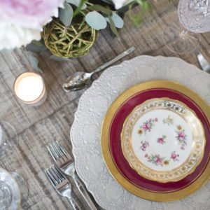luxury wedding Table top Georgia