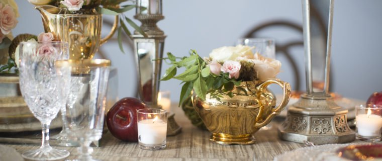 luxury gold teapot wedding Flourish Georgia