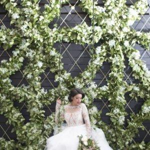 luxury floral wall Flourish Georgia