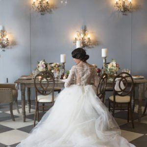 luxury bridal gown