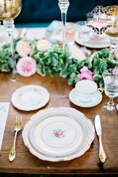Luxury wedding georgia Fine China