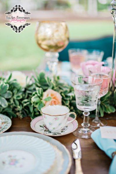 Luxury fine china wedding Inspiration