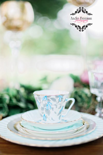 Georgia Wedding Fine China Luxury