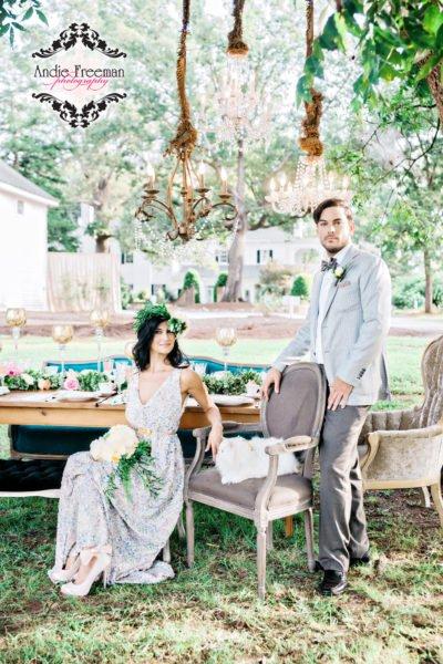 Pantone Bridal Gown Vintage Wedding