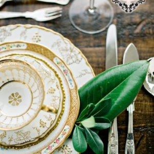 Gold Old Southern Elegance