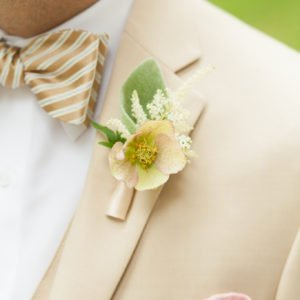 Groom-flowers-wedding