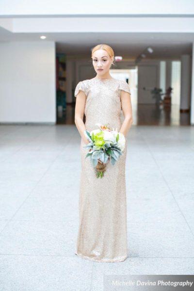 luxury-gold-bridesmaid