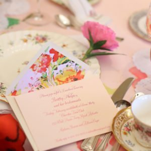 Table-bridal-menu