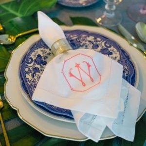 wedding-monogram-napkin