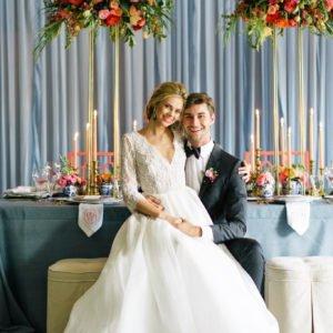 wedding-blue-draping