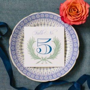 wedding-plates-monogram