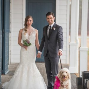 Bride-Groom-dog