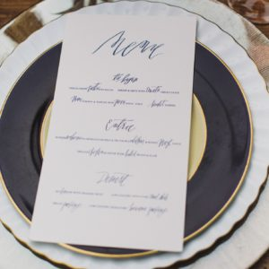 Plates-wedding-navy