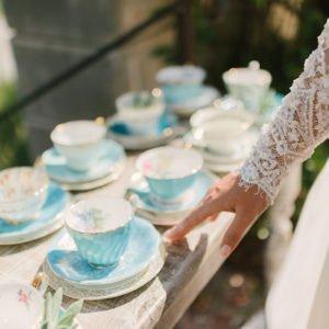 Turquoise-teacups-bride
