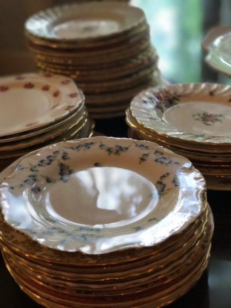cake-wedding-plates