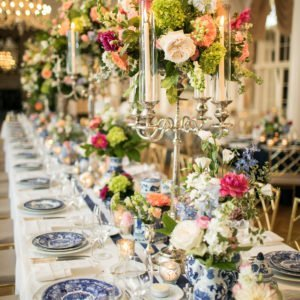 Blue and White – Southern Sophistication