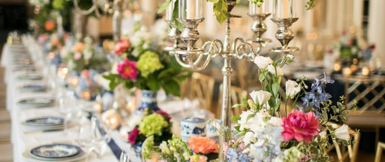 wedding-reception-blue-white