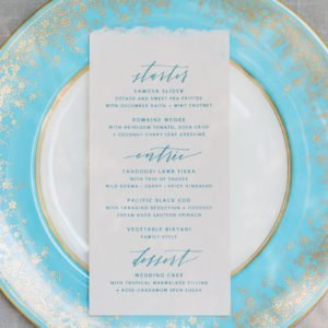 Menu-Plate-Turquoise
