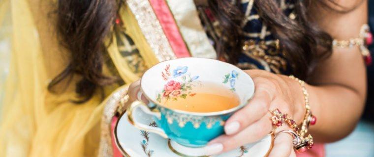 Indian-bride-tea