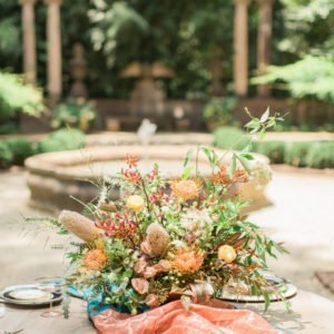 flowers-outside-wedding