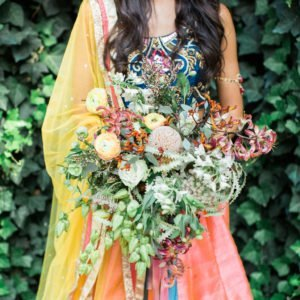 indian-bride-bouquet