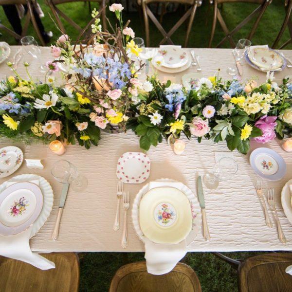 wedding head table atlanta
