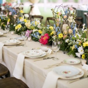 Piedmont Driving Club Wedding – fresh spring colors