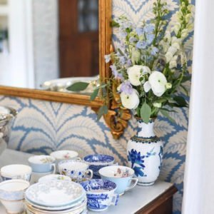 baby blue teacups