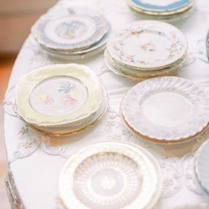 Cake-plates-luxury-wedding
