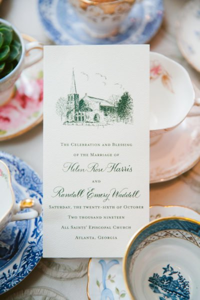 wedding-menu-luxury-atlanta