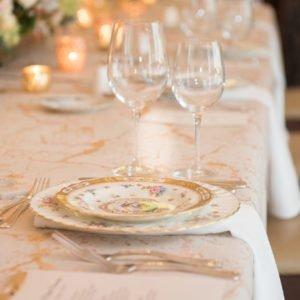 wedding table china