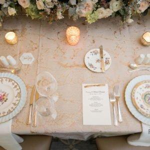 wedding table detail
